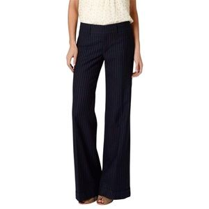 CARTONNIER Anthro Pinstripe Wide Leg Trouser Pants